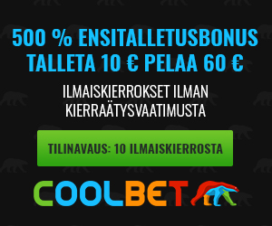 coolbet talletusbonus